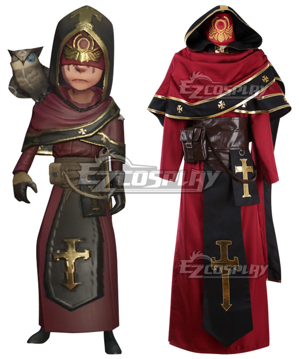 Identity V Seer Eli Clark Judge Halloween Cosplay Costume