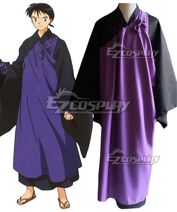 InuYasha Miroku New Edition Cosplay Costume