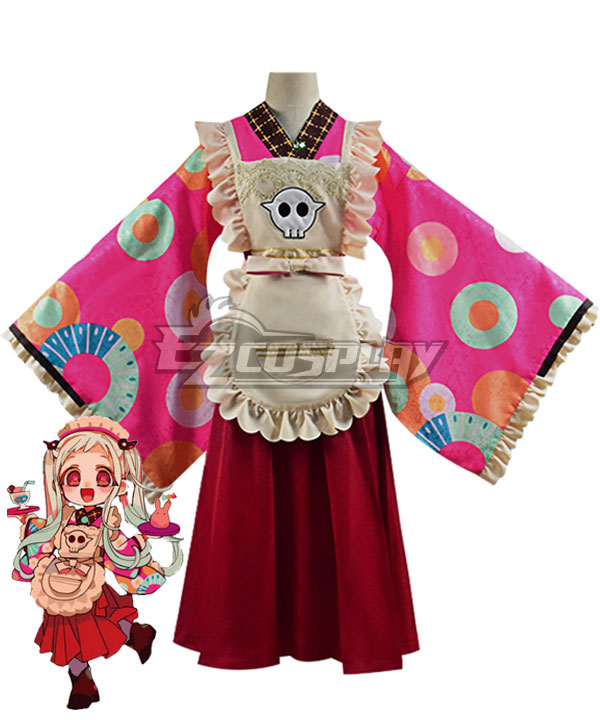 Jibaku Shounen Hanako-kun Nene Yashiro Kimono Maid Dress Cosplay Costume