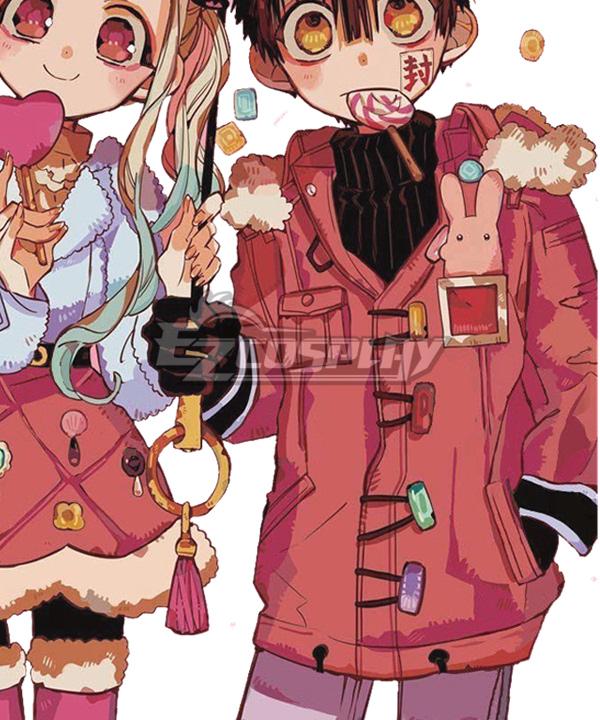 Jibaku Shounen Hanako-kun Toilet-bound Hanako Kun Yugi Amane Winter Cosplay Costume
