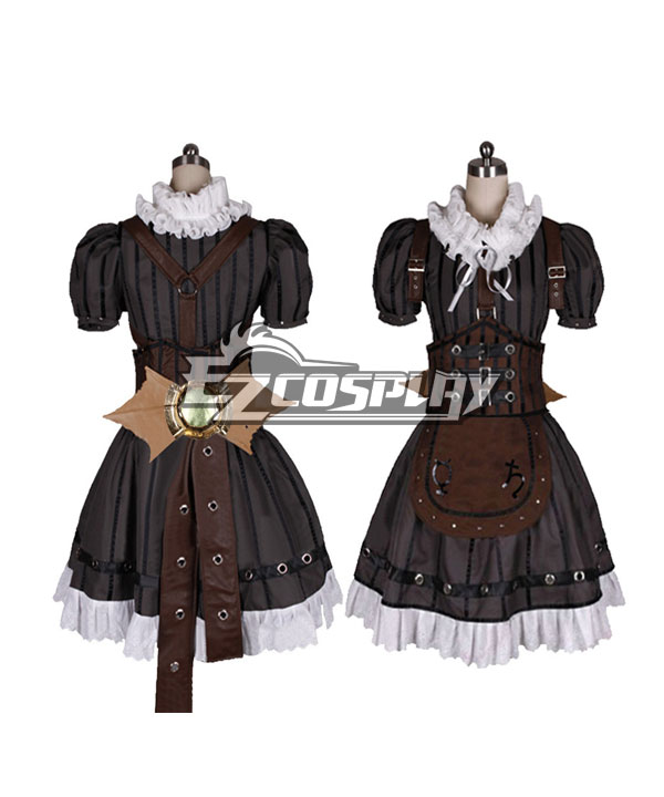 Alice: Madness Returns Steampunk Alice Cosplay Costume - Black