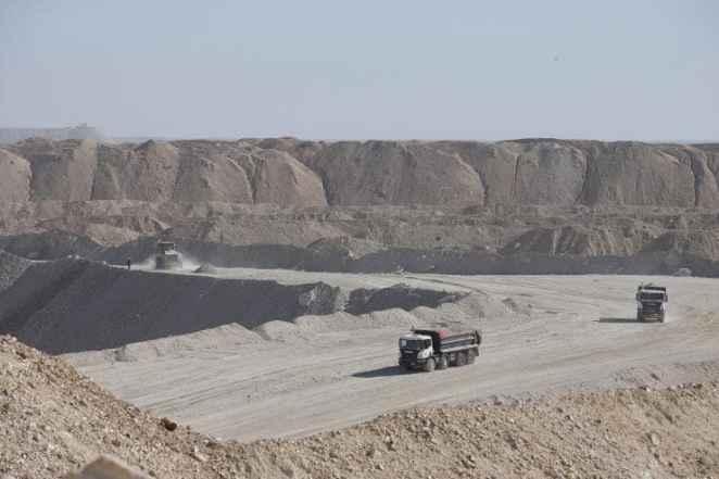 Phosphate mine in Western Sahara
