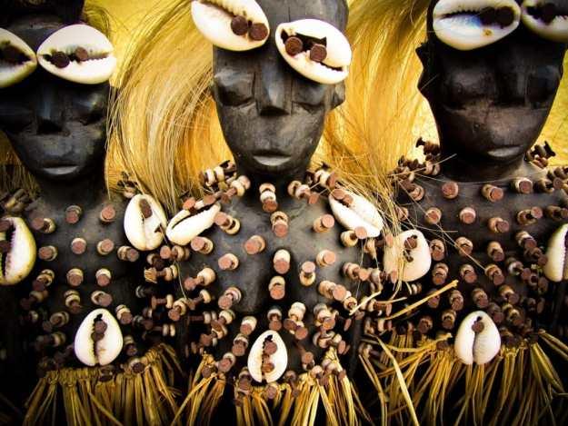Voodoo dolls of Togo
