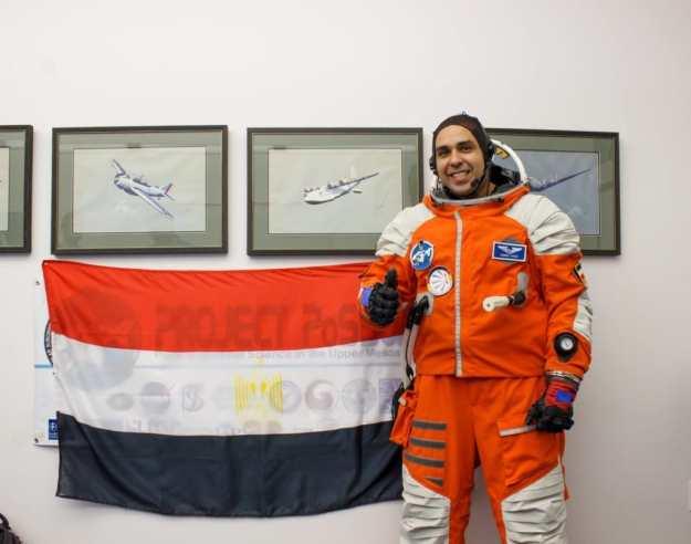 Egyptian astronaut