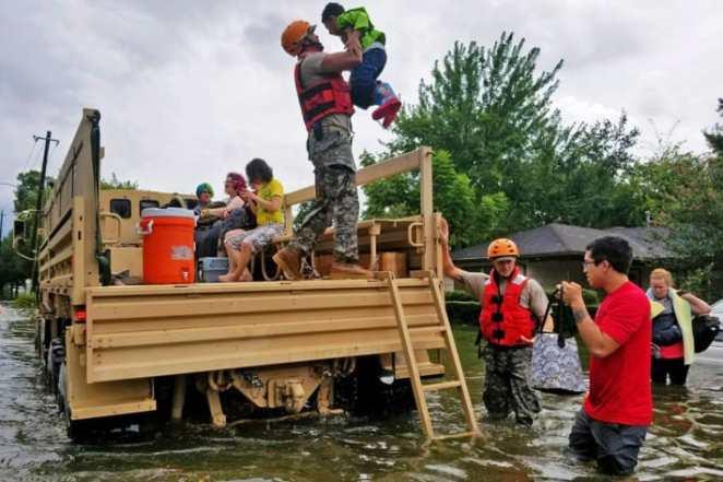 rescue hurricane harvey