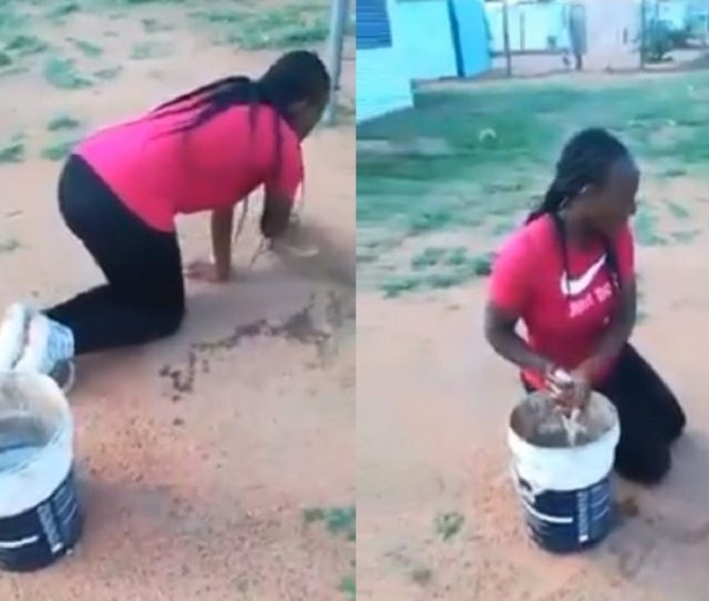 A Young South African Woman In Ga Rankuwa Township Near Pretoria Is Seeking Justice After Another Woman Who Accused Her Of Sleeping With Her Husband Forced