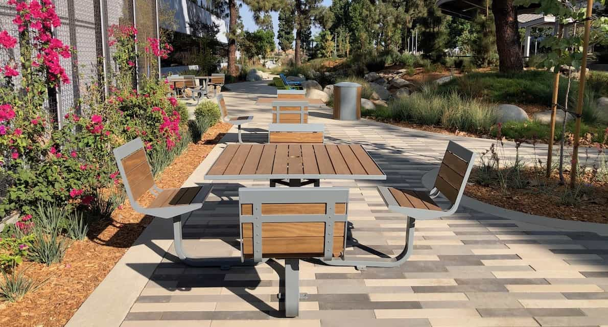 commercial outdoor furniture line