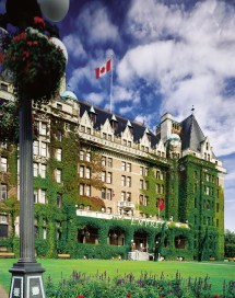 The Fairmont Empress Hotel Victoria British Columbia Canada