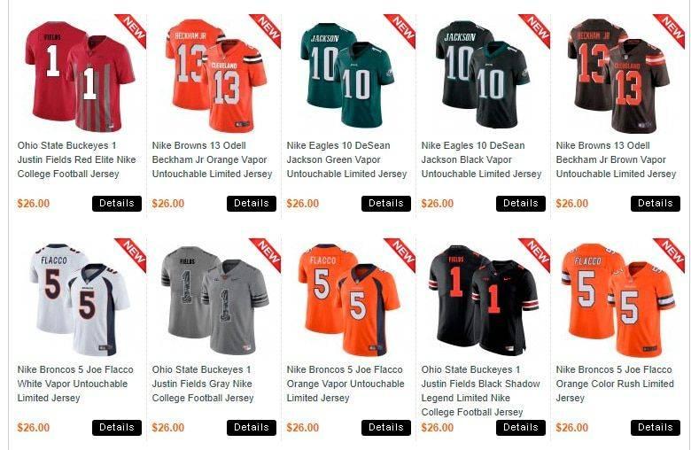 Jerseysale.info Tienda Falsa Online