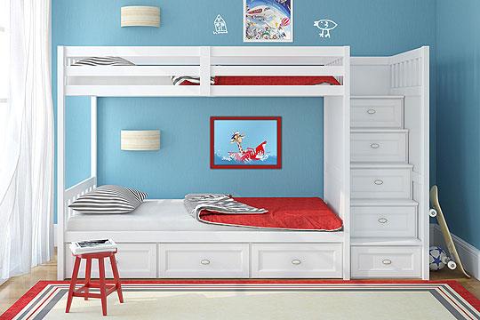 kinderzimmer gestalten junge hochbett | beecie, Schlafzimmer