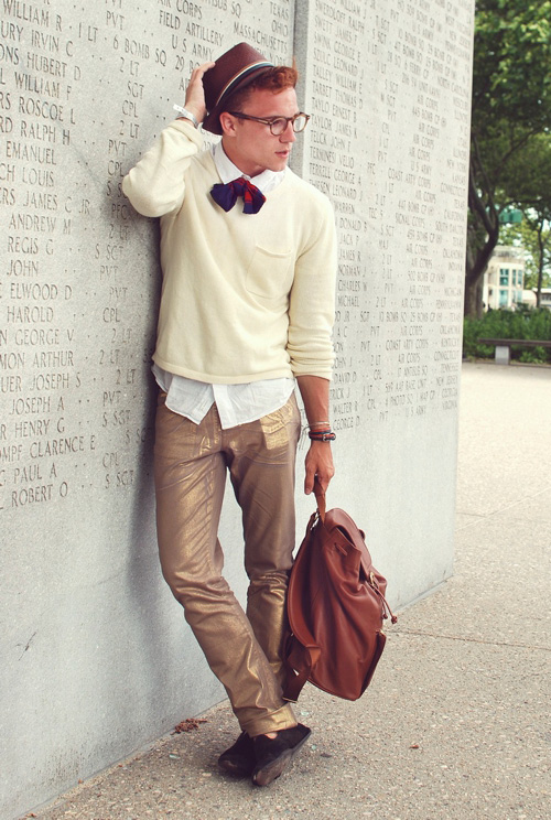 Redhead Mens Fashion  Famous Outfits