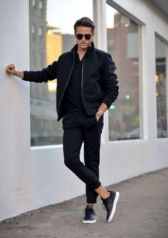 Men's Monochromatic Fashion