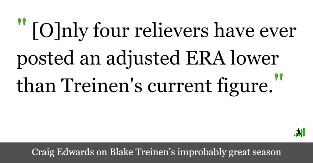 medium resolution of edwin diaz blake treinen and the greatest reliever seasons ever fangraphs baseball