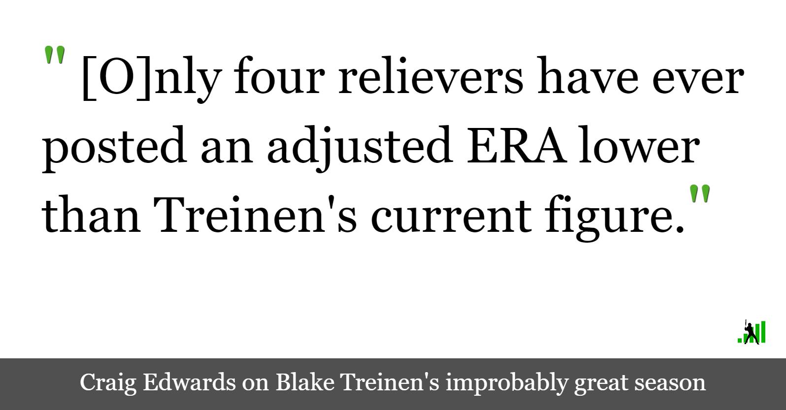hight resolution of edwin diaz blake treinen and the greatest reliever seasons ever fangraphs baseball
