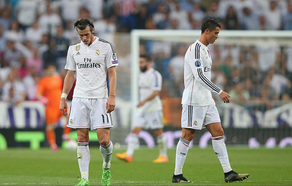 Both Cristiano Ronaldo and Gareth Bale suffered a loss of form in 2015.