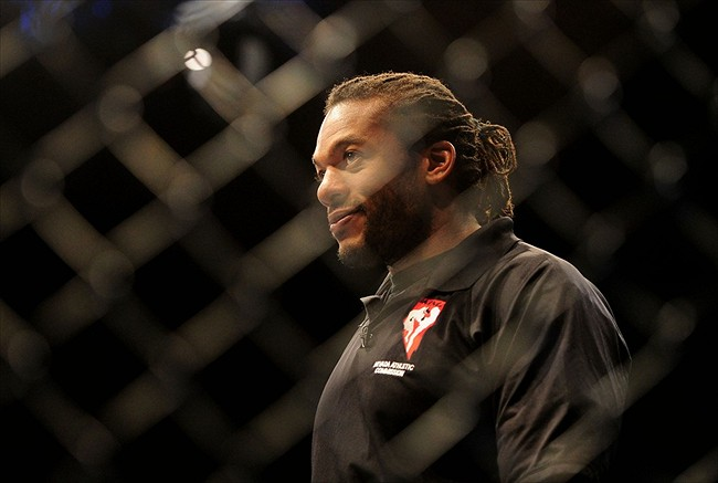 UFC on FOX 8 Herb Dean to ref main and comain events  FanSided  Sports News Entertainment