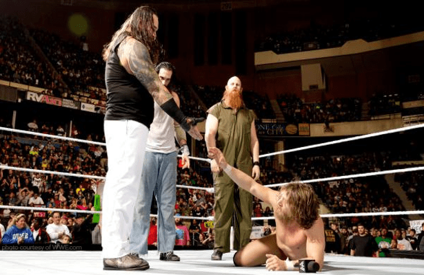 WWEs Daniel Bryan Debuts His New Attire For The Wyatt