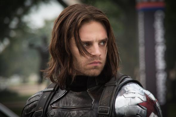 "Sebastian Stan as The Winter Soldier in ""Captain America: The Winter Soldier."" Photo Credit: Marvel"
