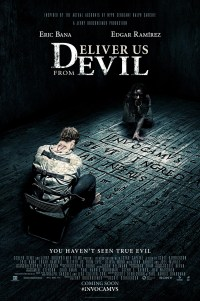Poster for bleak 2014 horror Deliver Us From Evil