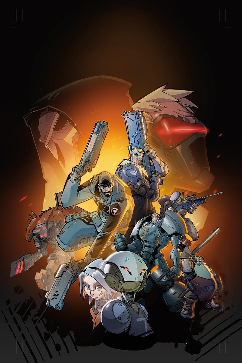 Overwatch Blizzard Partners With Dark Horse Comics