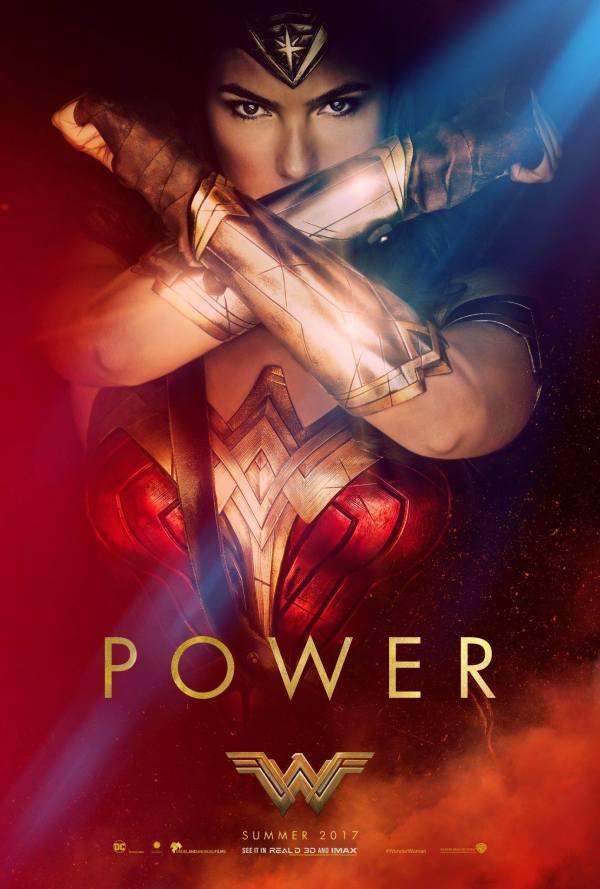 Wonder Women Movie 2017 Poster