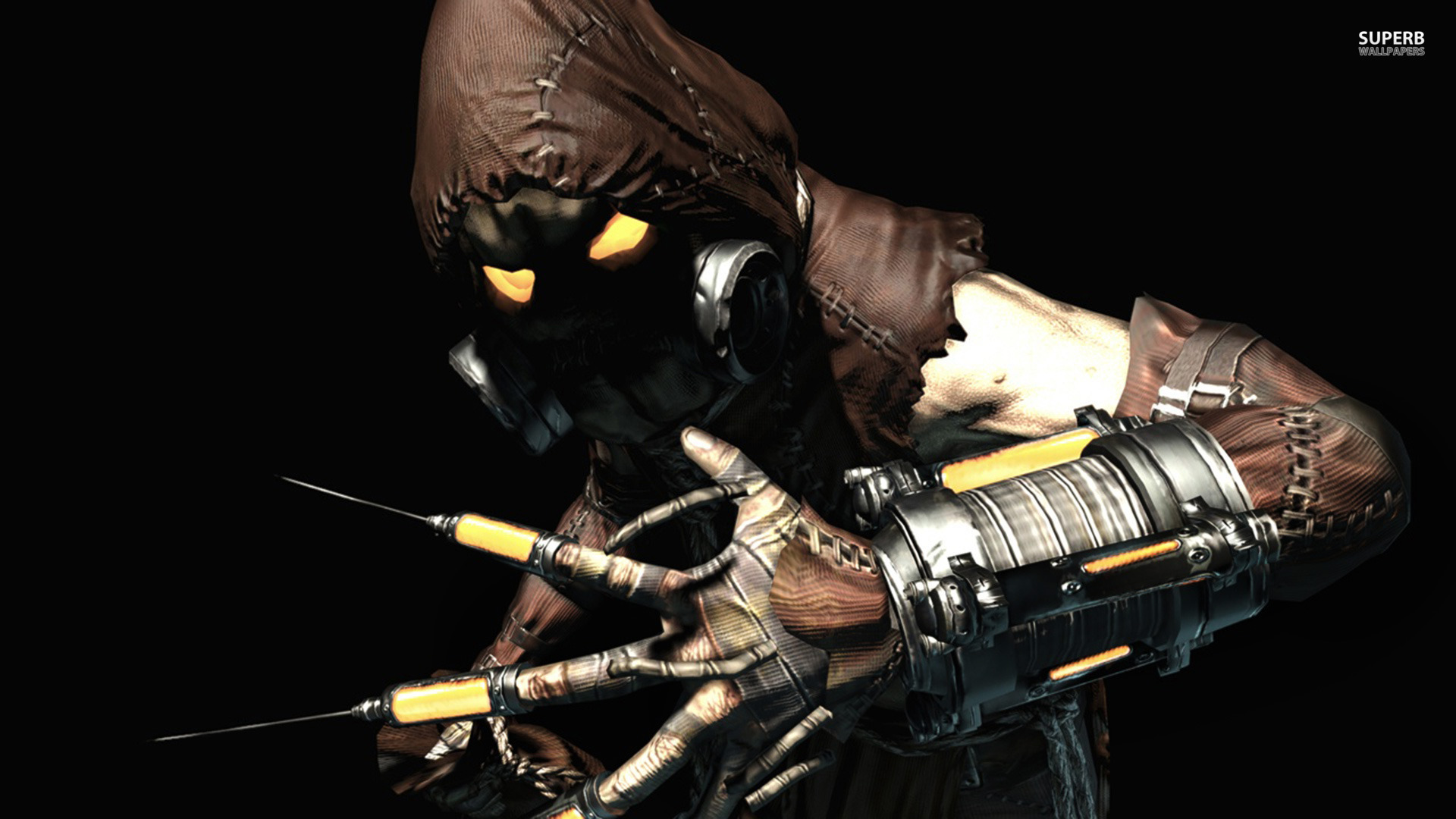 Image result for arkham asylum scarecrow