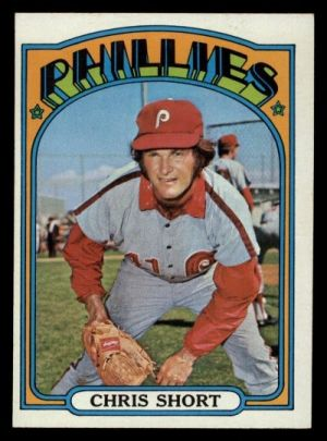 Short wrapped his 14-season Phillies career in 1972