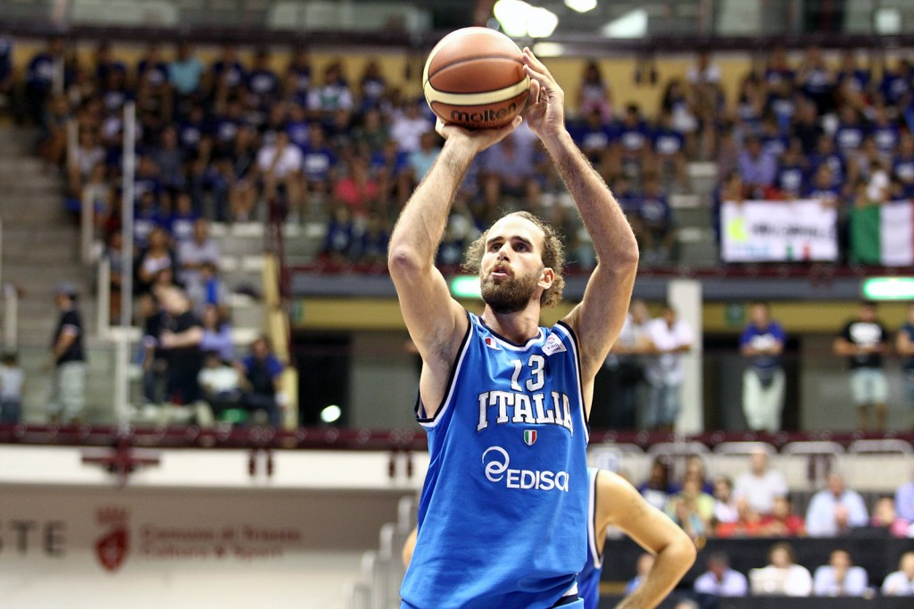 Luigi Datome has signed a two year deal with the Detroit Pistons.