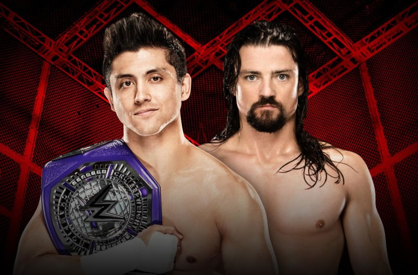 Image result for hell in a cell 2016 match card