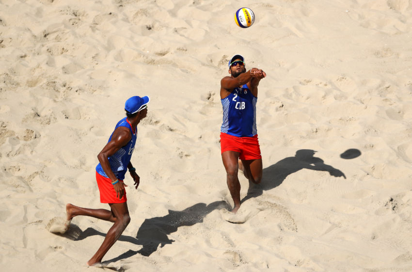 Olympic Beach Volleyball Results Americans Women Advance