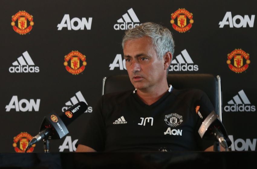 Mourinho Manchester United Squad Fully Fit For Derby