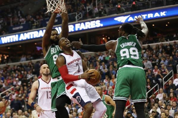 Washington Wizards Players Poised