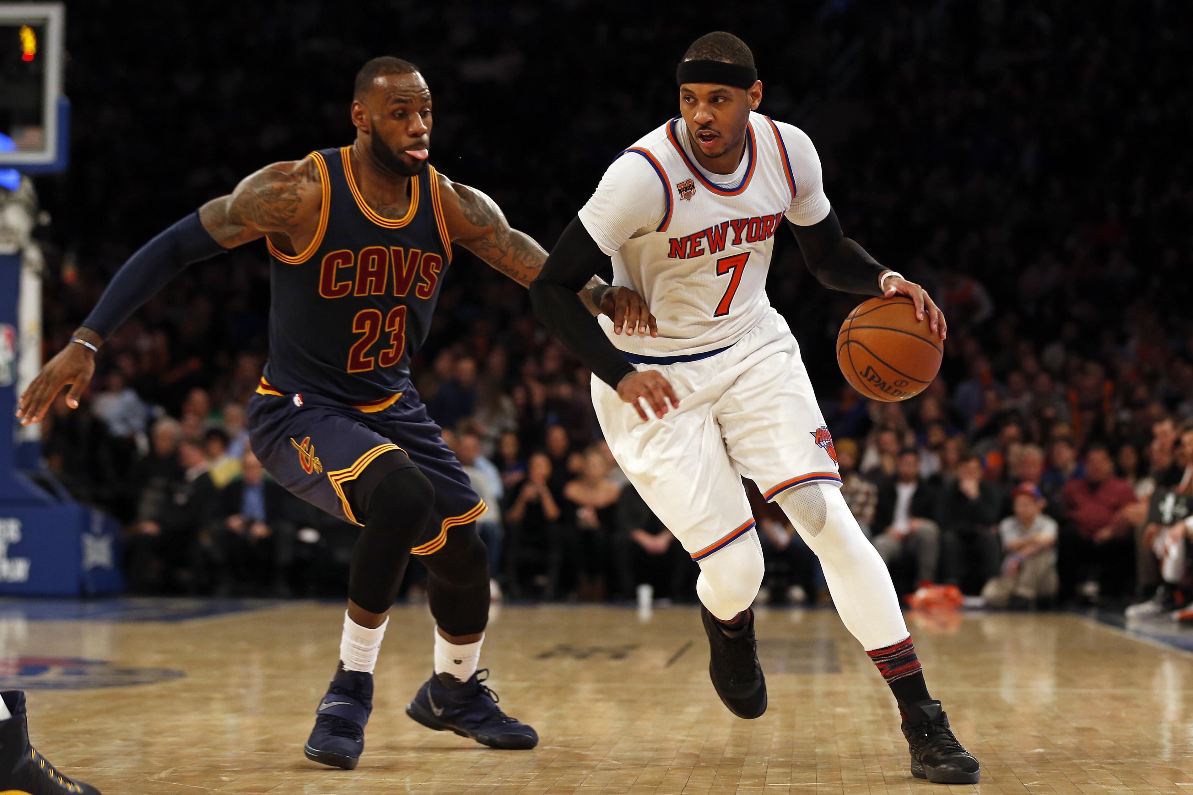 Knicks Rumors Lebron James Pushing To Acquire Carmelo Anthony