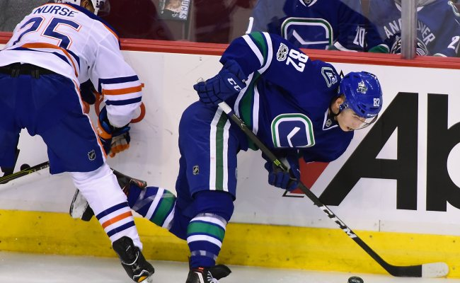 Vancouver Canucks Looking At Home Opener Vs Oilers