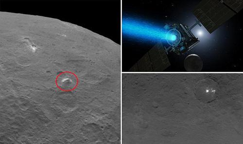 کشف اهرام در سیاره مرموز