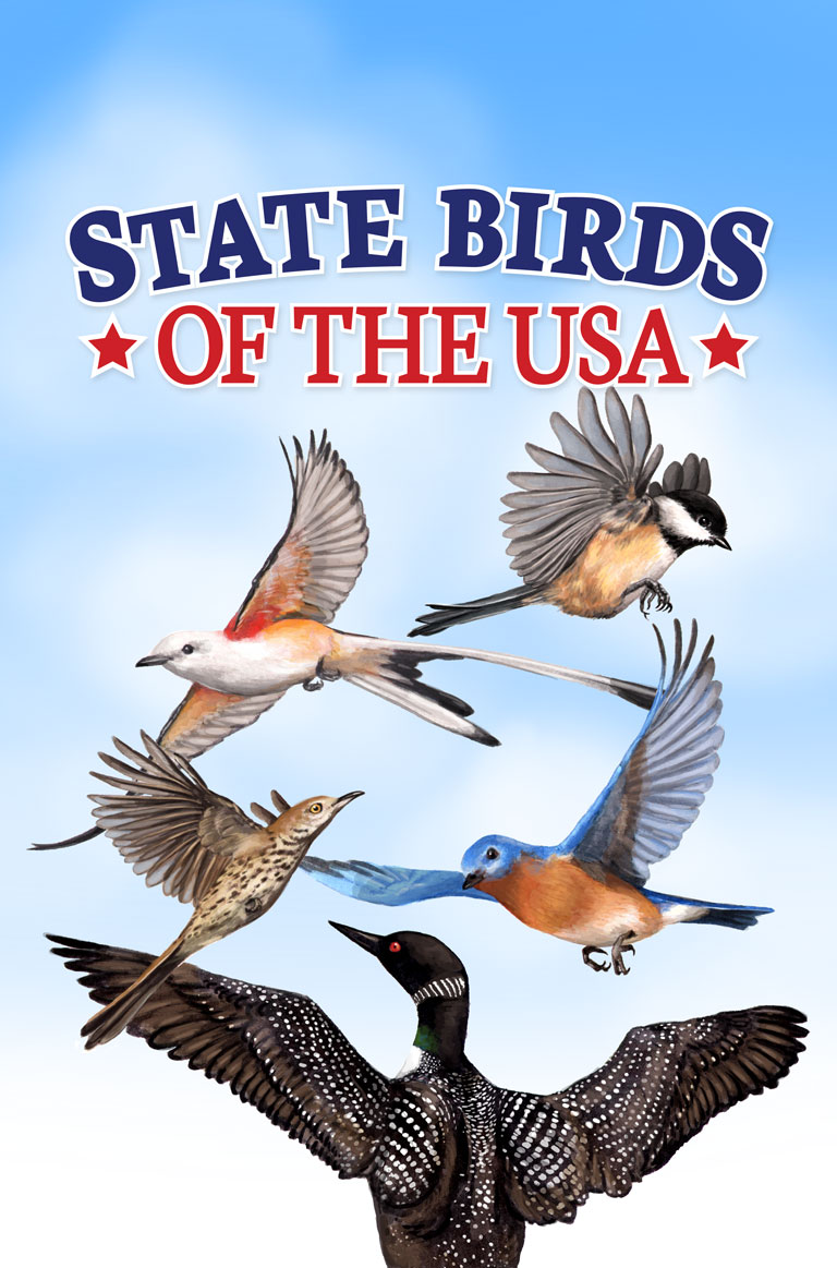 State Birds of the USA  FarFaria