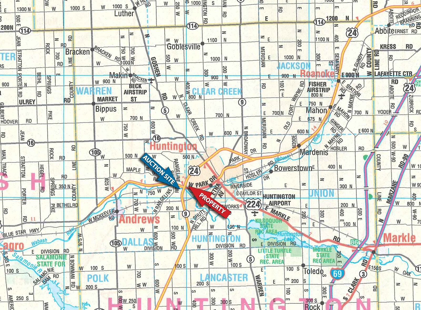 Marion County Indiana Zoning Map