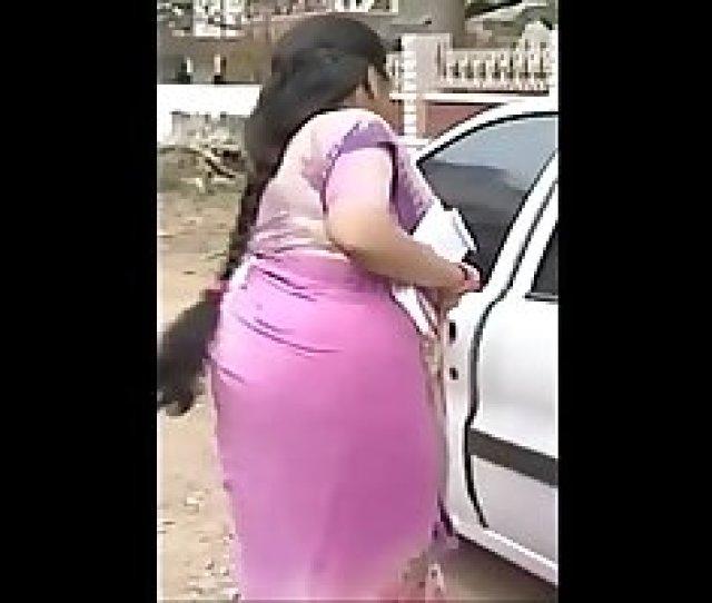 Serial Actress Sukanya Hot Thick Long Hair Back View Side View Low