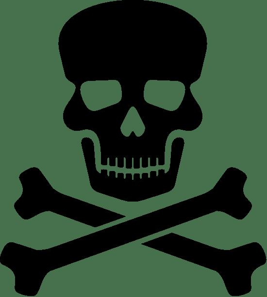 Skull Crossbones Graphic Clip Art Picmonkey Graphics