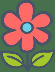 Simple Flower Graphic Flower Clip Art Free Graphics & Vectors PicMonkey