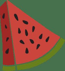 Watermelon Slice Graphic Clip Art Free Graphics & Vectors PicMonkey