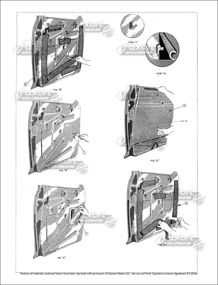 1946-1948 Fisher Body Upholstery Assembly Manual Buick