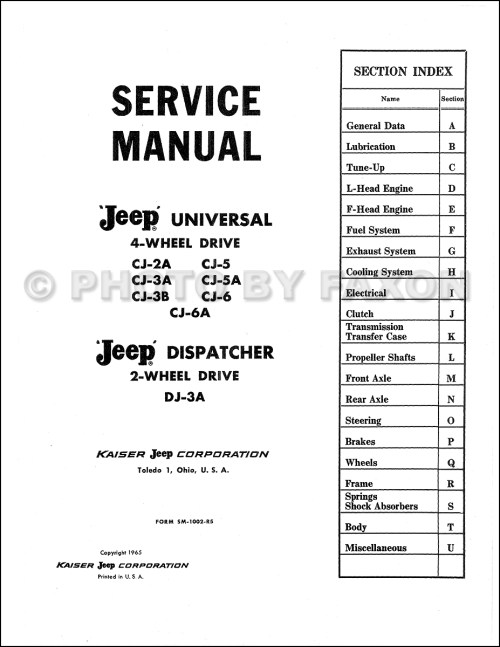 small resolution of 1953 willys wiring diagram willys jeep wiring diagrams 2013 jeep