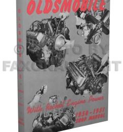 1950 1951 oldsmobile shop manual reprint [ 800 x 1040 Pixel ]