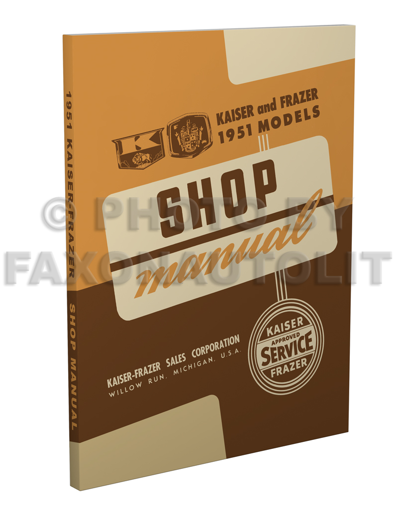 hight resolution of 1952 1953 kaiser frazer shop manual original supplement