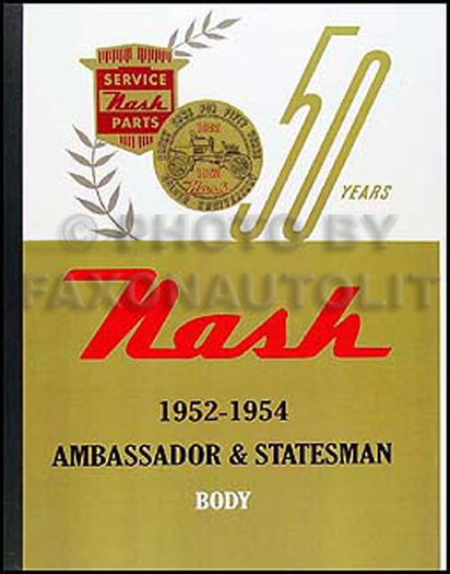 Wiring Diagrams Of 1956 Nash Ambassador