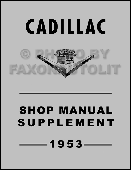 1950-1953 Cadillac Superior Hearse & Ambulance Parts