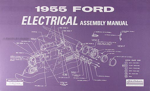 club car gas wiring diagram 3 way tacker 1955 ford electrical reprint assembly manual