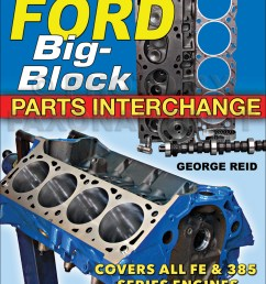 ford 390 engine parts diagram [ 1000 x 1299 Pixel ]