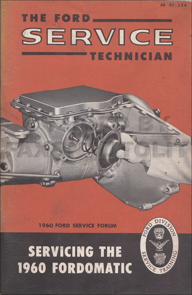 hight resolution of image is loading 1960 ford fordomatic transmission service manual 2 speed